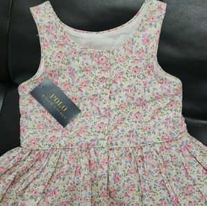 Polo Ralph Lauren spring pink dress